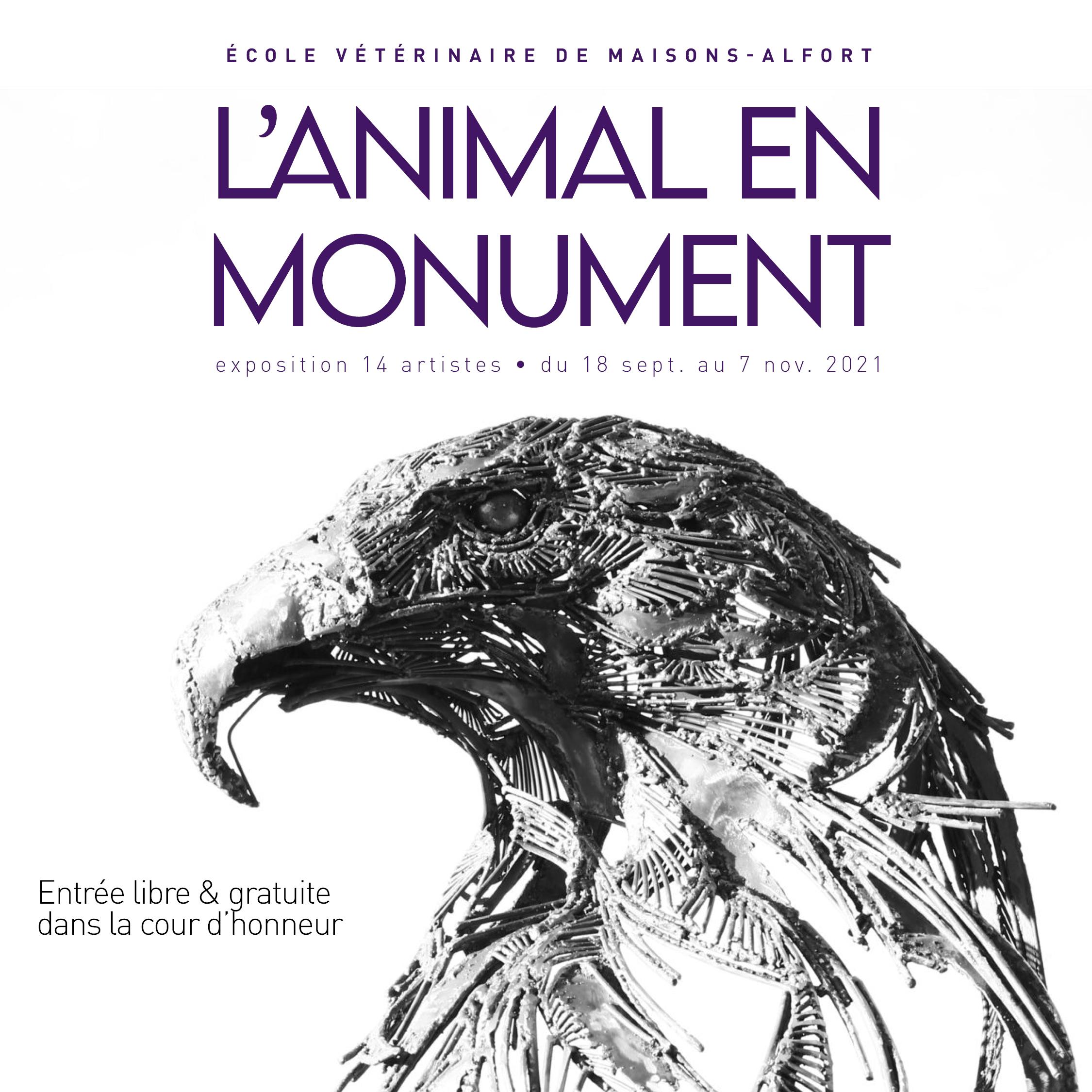 L'animal en monument – du 18 septembre au 7 novembre 2021